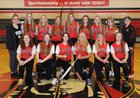 Lancaster Legends Girls Varsity Softball Spring 17-18 team photo.