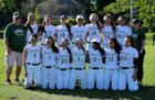 McGann-Mercy Monarchs Girls Varsity Softball Spring 17-18 team photo.