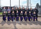 Sumner Spartans Girls Varsity Softball Spring 17-18 team photo.