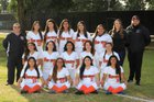 La Puente Warriors Girls Varsity Softball Spring 17-18 team photo.