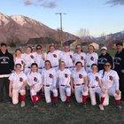 Providence Hall Patriots Girls Varsity Softball Spring 17-18 team photo.