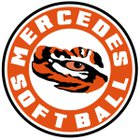 Mercedes Tigers Girls Varsity Softball Spring 17-18 team photo.