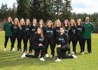 Emerald Ridge Jaguars Girls Varsity Softball Spring 17-18 team photo.