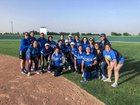 Fort Stockton Panthers Girls Varsity Softball Spring 17-18 team photo.