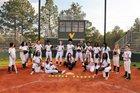 Spring Valley Vikings Girls Varsity Softball Spring 17-18 team photo.