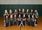 Klahowya Eagles Girls Varsity Softball Spring 17-18 team photo.