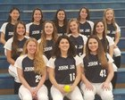 John Jay Patriots Girls Varsity Softball Spring 17-18 team photo.