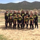 Pecos Panthers Girls Varsity Softball Spring 17-18 team photo.