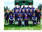 Edmonds-Woodway Warriors Girls Varsity Softball Spring 17-18 team photo.