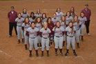 Huntsville Eagles Girls Varsity Softball Spring 17-18 team photo.