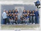 La Cueva Bears Girls Varsity Softball Spring 17-18 team photo.