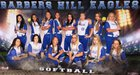 Barbers Hill Eagles Girls Varsity Softball Spring 17-18 team photo.