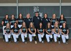 Bonney Lake Panthers Girls Varsity Softball Spring 17-18 team photo.