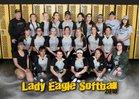 Hobbs Eagles Girls Varsity Softball Spring 17-18 team photo.