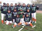 Wingate  Girls Varsity Softball Spring 17-18 team photo.