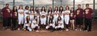 Tolleson Wolverines Girls Varsity Softball Spring 17-18 team photo.