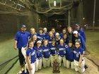 South Side Hornet Girls Varsity Softball Spring 17-18 team photo.