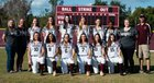 Riverview Sarasota Rams Girls Varsity Softball Spring 17-18 team photo.