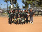 The Grove School Ravens Girls Varsity Softball Spring 17-18 team photo.