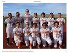 Lordsburg Mavericks Girls Varsity Softball Spring 17-18 team photo.