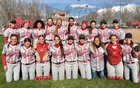 Spanish Fork Dons Girls Varsity Softball Spring 17-18 team photo.