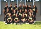 Godinez Grizzly Bear Girls Varsity Softball Spring 17-18 team photo.