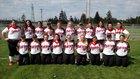 Snohomish Panthers Girls Varsity Softball Spring 17-18 team photo.