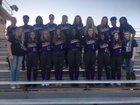 England Lions Girls Varsity Softball Spring 17-18 team photo.