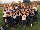 Reavis Rams Girls Varsity Softball Spring 17-18 team photo.