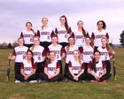 Sunnyside Christian Knights Girls Varsity Softball Spring 17-18 team photo.