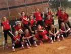 Strawberry Crest Chargers Girls Varsity Softball Spring 17-18 team photo.