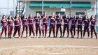 Stuttgart Ricebirds Girls Varsity Softball Spring 17-18 team photo.