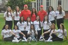 Carondelet Cougars Girls Varsity Softball Spring 17-18 team photo.