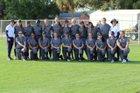 Admiral Farragut Blue Jackets Girls Varsity Softball Spring 17-18 team photo.