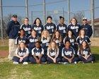 Marked Tree Indians Girls Varsity Softball Spring 17-18 team photo.