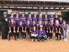 Navarro Panthers Girls Varsity Softball Spring 17-18 team photo.
