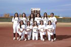 Gadsden Panthers Girls Varsity Softball Spring 17-18 team photo.