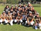 El Camino Wildcats Girls Varsity Softball Spring 17-18 team photo.