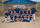 Naches Valley Rangers Girls Varsity Softball Spring 17-18 team photo.