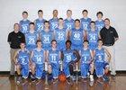 Papillion-LaVista South Titans Boys Freshman Basketball Winter 13-14 team photo.