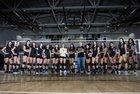 Olympian Eagles Girls JV Volleyball Fall 17-18 team photo.