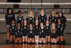 Pelham Panthers Girls JV Volleyball Fall 17-18 team photo.
