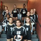 Granville Central Panthers Girls JV Volleyball Fall 17-18 team photo.