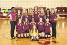 Middleton Tigers Girls JV Volleyball Fall 17-18 team photo.