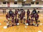 East Gaston Warriors Girls JV Volleyball Fall 17-18 team photo.