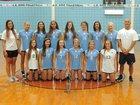 J.H. Rose Rampants Girls JV Volleyball Fall 17-18 team photo.