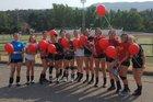 Calaveras  Girls JV Volleyball Fall 17-18 team photo.