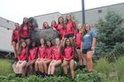 Hillcrest Rams Girls JV Volleyball Fall 17-18 team photo.