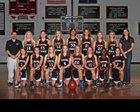 Cardinal Newman Cardinals Girls JV Basketball Winter 14-15 team photo.