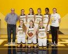 Menlo School Knights Girls JV Basketball Winter 14-15 team photo.